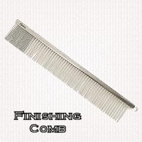 Finishing comb