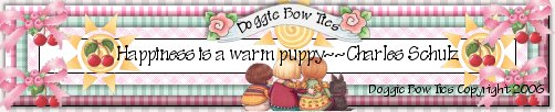 Pet Line Dog Bows by Doggie Bow Ties