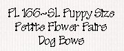 Petite Flower Pairs Dog Bows