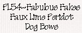image:Petline Fabulous Fakes Dog Bows
