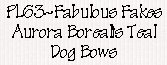 Petline Fabulous Fakes Dog Bows