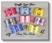 Dog Bows Full Size-Busy Bee II