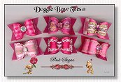 Dog Bows Full Size-Pink Sugar I