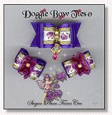 Dog Bows-Fana Cee™ Sugar Plum