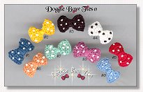 Dog Bows-Crochet Bow Ties