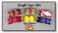 Puppy Dog Bows-Brite Colours