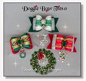 Dog Bow-Christmas Bow Dangles™