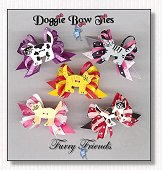 Dog Bows-Furry Friends Kitties