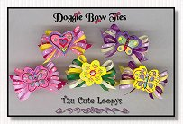 Dog Bows-Tzu Cute Loopys