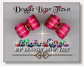 Dog Bows-Fabulous Fakes Pink Tourmaline