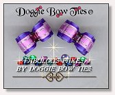 Dog Bows-Fabulous Fakes Purple Amethyst