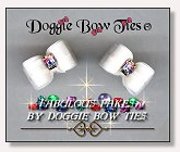 Dog Bows-Fabulous Fakes Patriotic Diamond