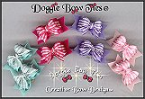 Puppy Dog Bows-Tiny Ties Microcheck