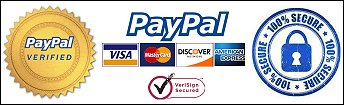 Secure online shopping with Paypal